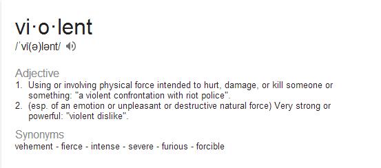 violent-definition