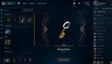 hextech key